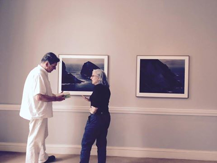 """Precipice"", an exhibition by photographer Amelia Stein"