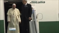 Pope Francis begins seven-day tour of South America