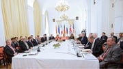 The foreign ministers of six Western powers met with Iranian Foreign Minister Mohamed Javad Zarif
