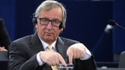 Jean-Claude Juncker has said he was against an exit by Greece from the euro