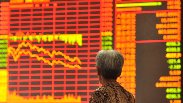 China's benchmark Shanghai index tumbled 7.3% this morning before trading was halted for the rest of the day