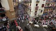 Week-long San Fermin festival is under way in Pamplona