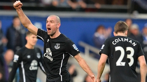 Darron Gibson won't travel with the Toffees' squad