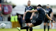Richie Towell was on the mark twice for Dundalk