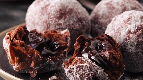 Double Chocolate Dough Balls