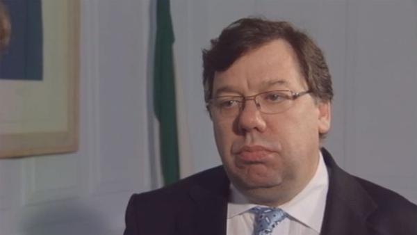 New Taoiseach Brian Cowen in 2008