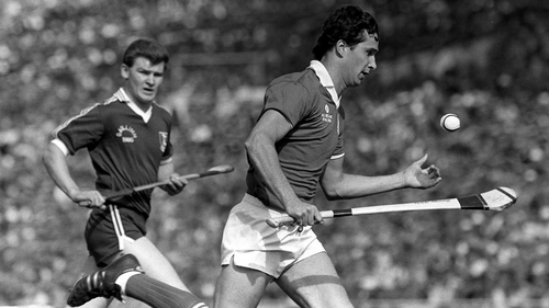 Tomas Mulcahy in action in the 1986 All-Ireland final against Galway