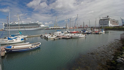 93 cruise ships visited Dublin Port last year