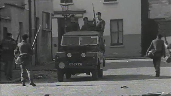 British Army in Belfast (1970)