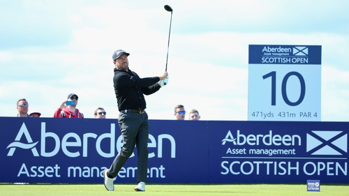 Graeme McDowell has been struggling for form but managed to card a 66