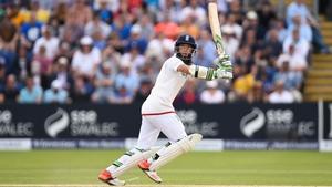 Moeen Ali scored 77 before taking two wickets