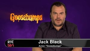 Jack Black introducing the Goosebumps trailer for TEN