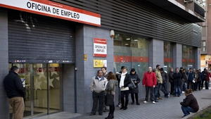 Spanish unemployment - at 16.7% - remains higher than euro zone average