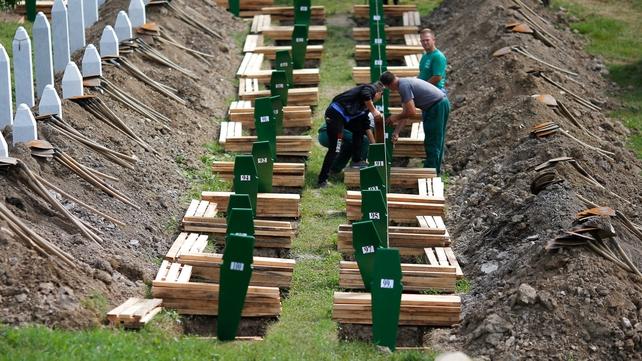8,000 people died at Srebrenica, the worst massacre since World War II