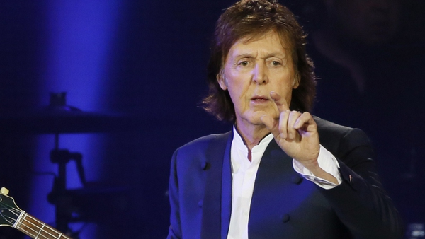 Paul McCartney: song-writing with his pal John was a 'quite competitive' process