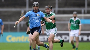 Danny Sutcliffe in action for Dublin against Limerick in the 2015 All-Ireland qualifiers