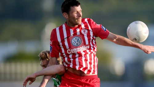 Dinny Corcoran bagged a brace for Sligo Rover in their win at St Colman's Park