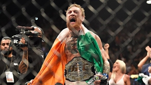 Conor McGregor became the UFC interim featherweight champion after a brutal fight with Chad Mendes in Las Vegas