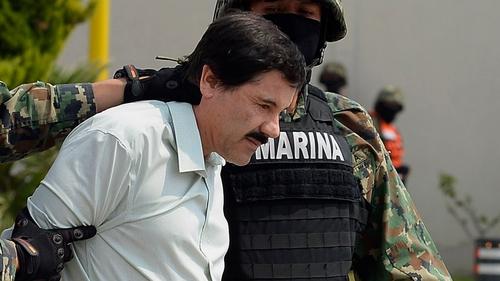 "Joaquin ""El Chapo"" Guzman was last seen yesterday in the shower area of the prison"