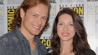 Sam Heughan and Caitriona Balfe - Returned to Comic-Con to savour the success of their series