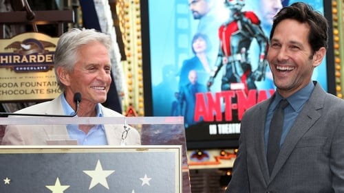 Douglas and Rudd - They make quite the team in Marvel's new movie