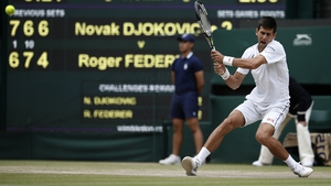 Novak Djokovic successfully defended the Wimbledon men's singles title, defeating Roger Federer in the final