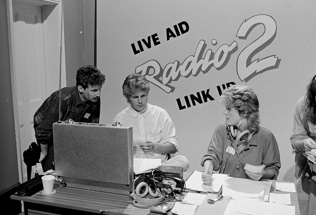 Barry Lang and Ian Dempsey 'Live Aid' (1985)