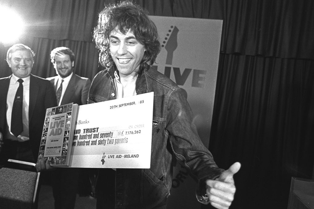 Bob Geldof (1985)