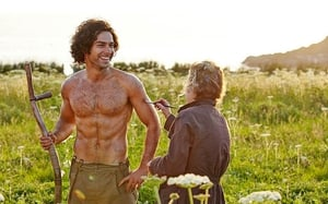 Aidan Turner in Poldark: Have we used this shot before?
