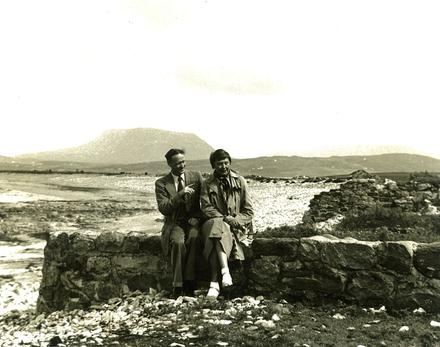 Proinsias agus Ingeborg Meyer Sickendiek ón Ghearmáin.  © RTÉ