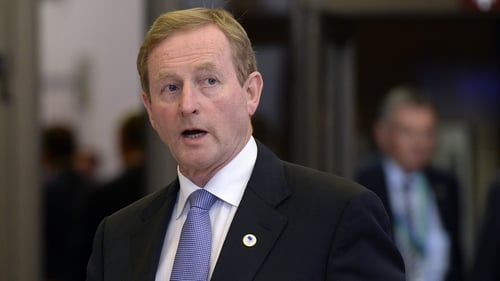 Enda Kenny said any increase of the minimum wage would have an effect on pay roll costs