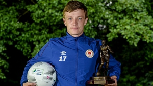 Chris Forrester picks up this third player of the month award