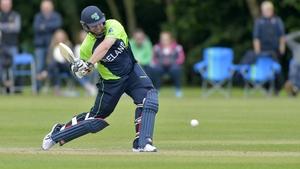 Paul Stirling hit 29 runs for Ireland