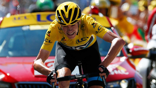 Chris Froome has tightened his grip on the yellow jersey