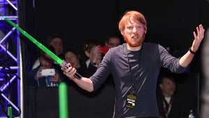 Domhnall Gleeson stars as General Hux in The Force Awakens