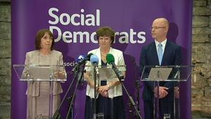 Róisín Shortall, Catherine Murphy and Stephen Donnelly share the leadership of the Social Democrats
