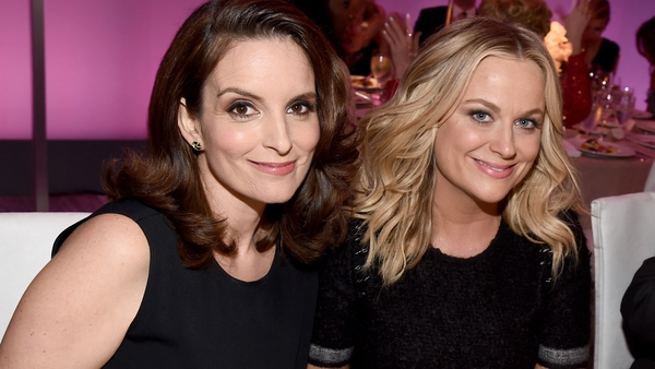 Fey and Poehler. Their new film opens in cinemas in March 2016