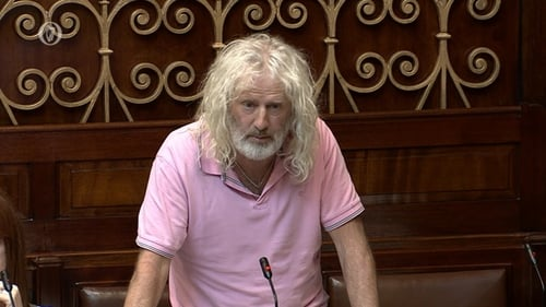 Mick Wallace has alleged that £7m in an Isle of Man account was reportedly earmarked for a Northern Ireland politician