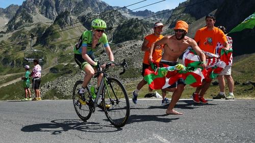 Dan Martin is third in the Vuelta a Espana. He will transfer to Etixx-QuickStep next season