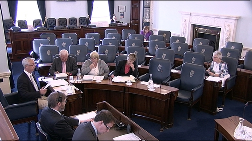 The bill was passed in the Seanad today
