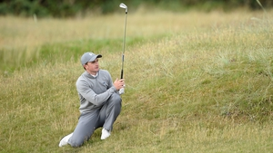 Paul Dunne recorded four birdies and one bogey in his round of 69