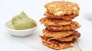 Sweet Potato Cakes with Feta - These sweet potato cakes with feta are perfect with an avocado dip or tomato sauce, and work as a snack or as a bigger meal.