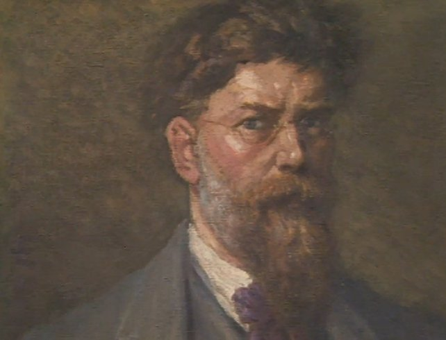 George Russell Self Portrait