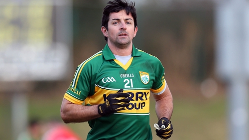 Aidan O'Mahony starts for Kerry