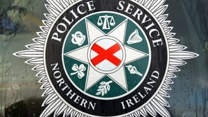 The discovery was made at a house in Conway Street in west Belfast