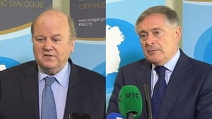 Speaking at the National Economic Dialogue forum in Dublin Castle, both ministers said there was significant space to take on-board tax reduction and spending measures