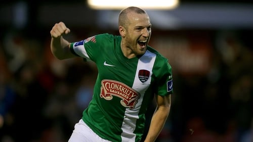 Karl Sheppard was on target as Cork City outclassed Longford Town on their home turf