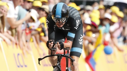 Chris Froome was hit with urine and called a 'doper' during the 14th stage of the Tour de France
