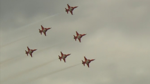 90,000 is a record turnout figure for the annual Bray Air Show