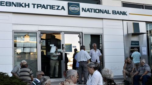 Greece had brought in capital controls at the end of June in a bid to stave off economic collapse